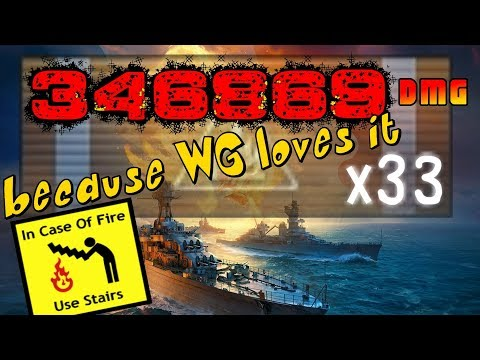 République FRENCH TX - CRAZY HE and Secondary Build || World of Warships