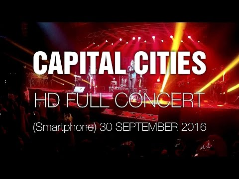 Capital Cities [Smartphone HD Full Show] @ Bogotá 30 Sep 2016 Saturnal