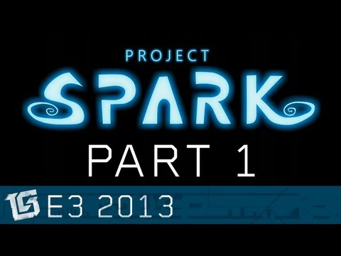 Project Spark Interview Part 1 - TGS at E3 2013