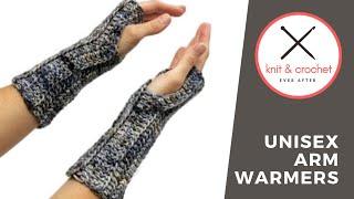 Unisex Arm Warmer Free Pattern Workshop