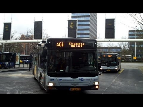 Eindhoven Airport Bus 401 from City Centre