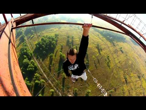 Crazy Ukrainians Are Not Afraid Of High Places