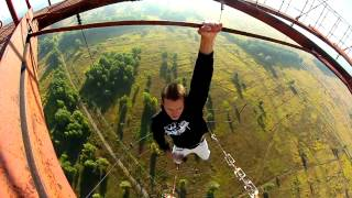 JportDev - compilation of awesome crazy Ukrainians climbing high places