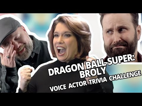Dragon Ball Trivia with the Cast of Dragon Ball Super: Broly