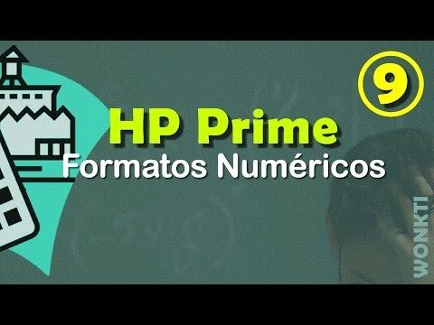 HP Prime: 09 - Formatos Numéricos