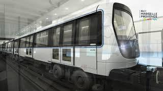 Marseille : découvrez le visage du nouveau métro qui circulera dès 2024
