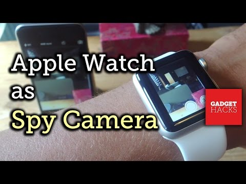 Turn Your iPhone into a Spy Camera Using Your Apple Watch [How-To] from YouTube · Duration:  1 minutes 59 seconds