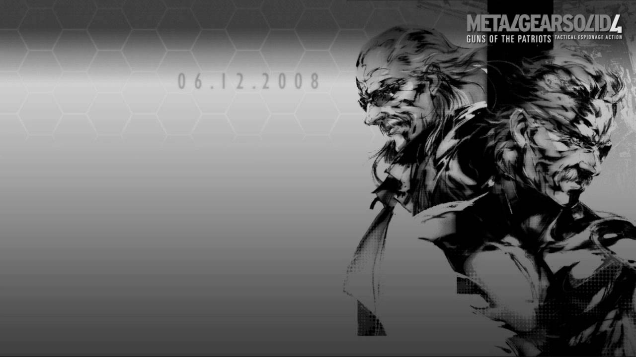 Metal Gear Solid 4 Encounter Youtube