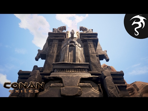 CONAN EXILES Ep6 - Temple of Set & Mek-kamoses?!