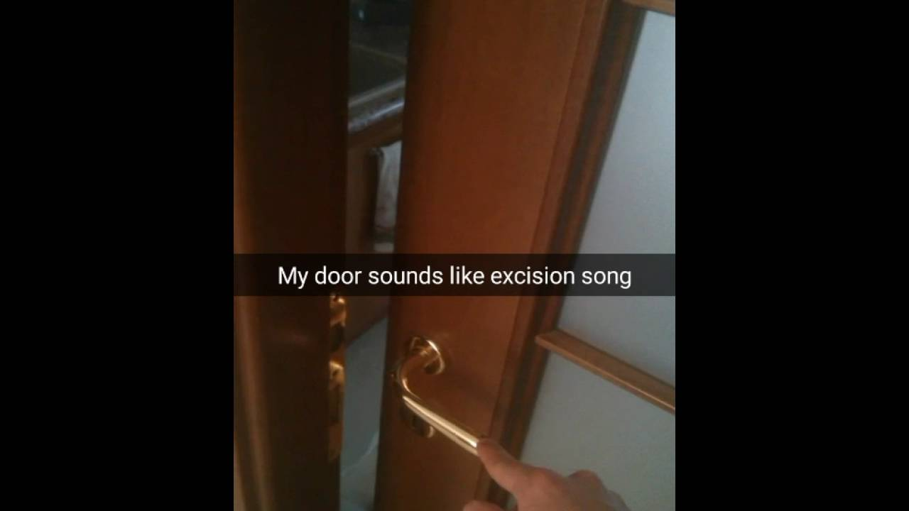 My kitchen door sounds like an Excision song! & My kitchen door sounds like an Excision song! - YouTube