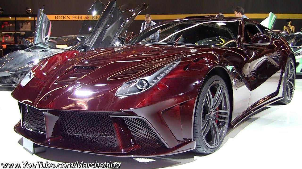 Ferrari F12 Price >> 1250hp Red Carbon Mansory Ferrari F12 La Revoluzione ...