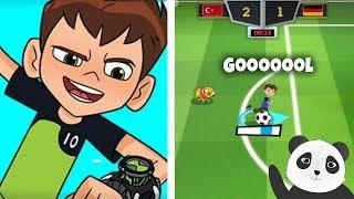 Panda Toon Kupası Futbol Oyunu Oynuyor! (Ben 10) - Toon Cup 2018