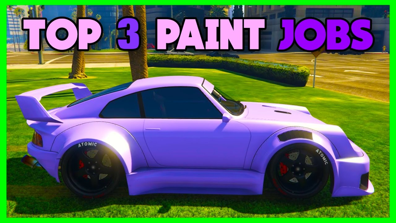 Modded Crew Colors For New Cars GTA 5 Paint Jobs