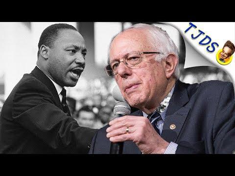 Bernie Smeared  Over MLK Speech By Establishment Tools