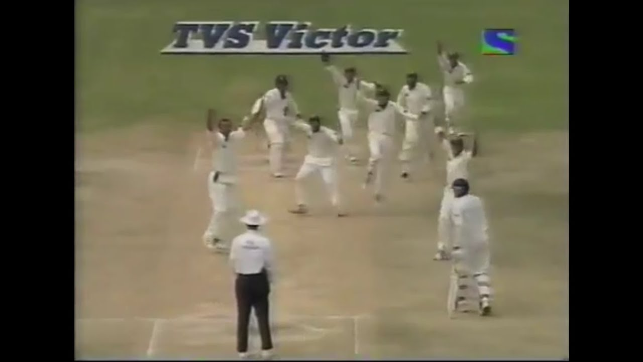 Pakistan famous test victory vs India Bangalore Test 2005