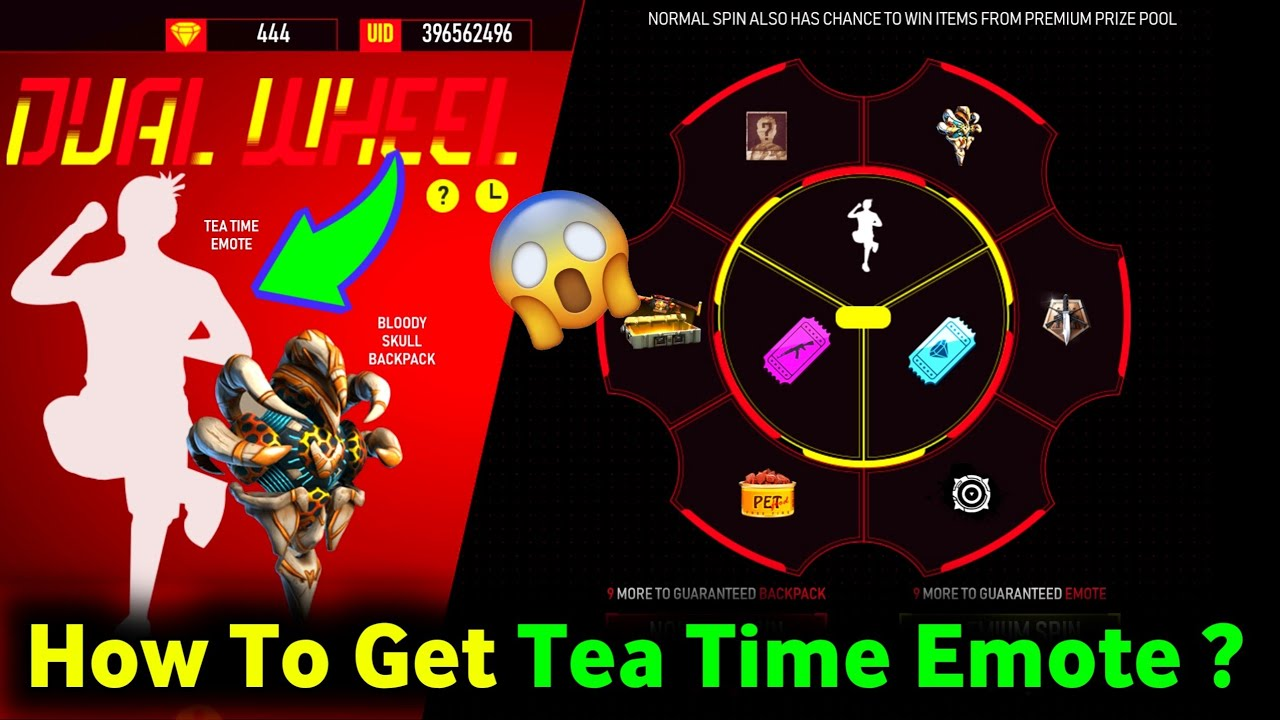 How To Get Tea Time Emote From New Event ?😋|| Dual Wheel New Event In Free Fire|| Abhinav Gaming