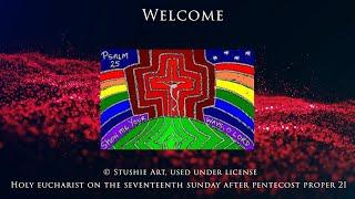 20200927 Worship service at Resurrection, Alexandria VA