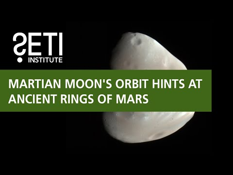 Martian Moon's Orbit Hints at Ancient Rings of Mars