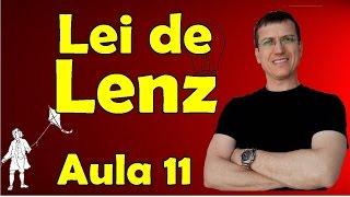 Lei de Lenz - Indução eletromagnética - Eletromagnetismo - Aula 11 - Prof. Marcelo Boaro