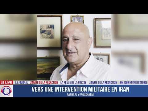 Vers une intervention militaire en Iran - L'invité du 26 aout 2021
