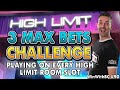 😱 3 Max Bet Spins on EVERY High Limit Slot Machine🎰