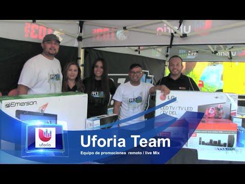 Uforia Team (Univision Radio Las Vegas ) 99.3 y 103.5 FM - YouTube