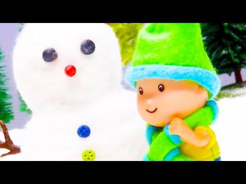 Caillou en Français   Caillou et le Bonhomme de Neige   dessin animé en entier   NOUVEAU 2018