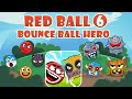 - Red Ball 6 Ball Hero Bounce Ball 6 1-33 Levels and Boss Fight Game Walkthrough New Red Ball