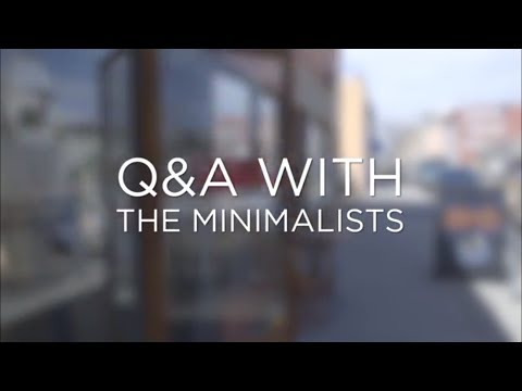 Q&A with The Minimalists