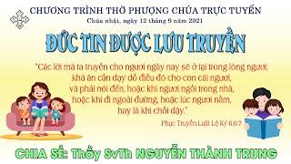 HTTL BẾN TRE -  Chương trình thờ phượng Chúa - 12/09/2021