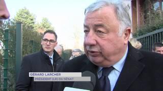 Politique : visite de terrain du Président du Sénat à Élancourt