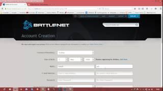 Battle.Net Hesabı Nasıl Açılır?