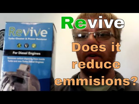 Revive Turbo Cleaner - Will the Kia pass its MOT? Does it reduce emmisions?