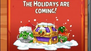 Angry Birds Epic Rpg The Holidays are Coming Golden Cloud Castle