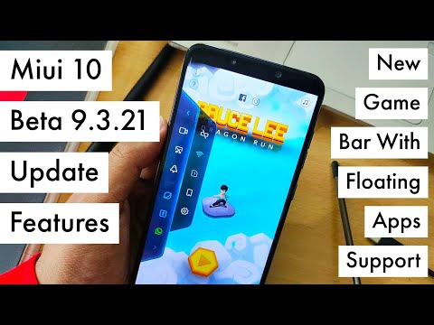 Miui 10 Beta 9.3.21 Update Features | Floating Windows Apps & Dual Clock Support | Hindi