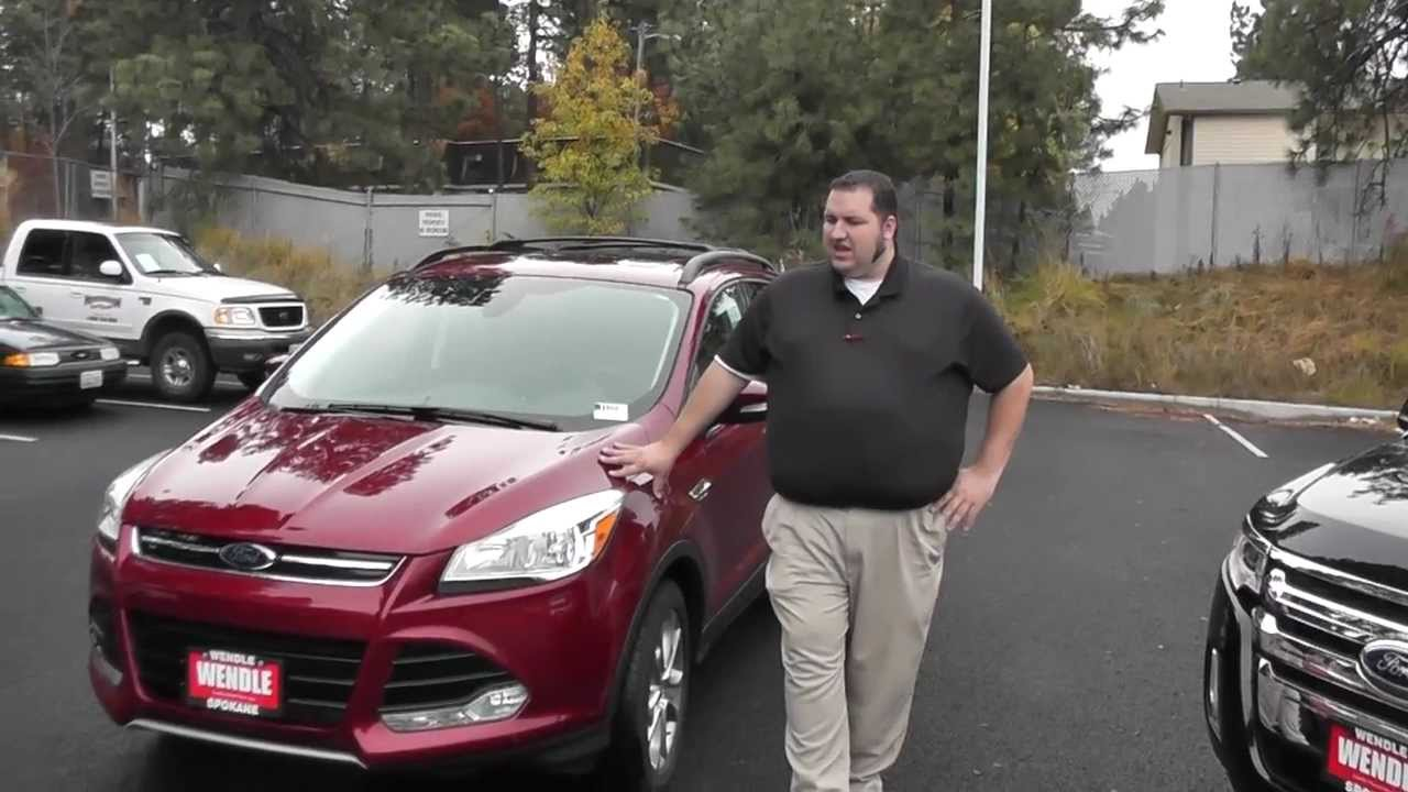 Ford Edge  Ford Escape Comparison Spokane Wa