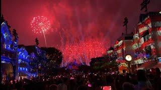 DISNEYLAND 4TH OF JULY 2021 FIREWORKS SHOW CELEBRATE AMERICA [4K 1080p] MICKEYS MIX MAGIC SHOW