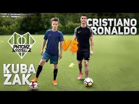 Cristiano Ronaldo VS polski piłkarz amator! | PNTCMZ