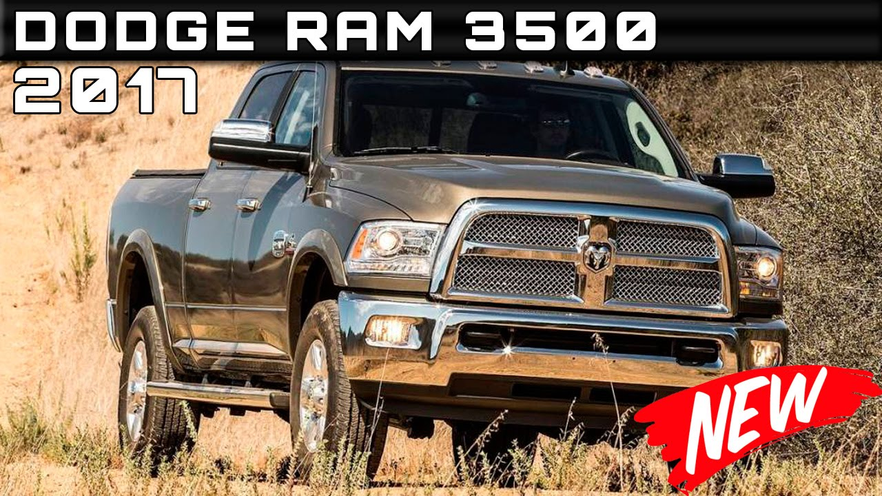 2017 dodge ram 3500 review rendered price specs release date youtube. Black Bedroom Furniture Sets. Home Design Ideas
