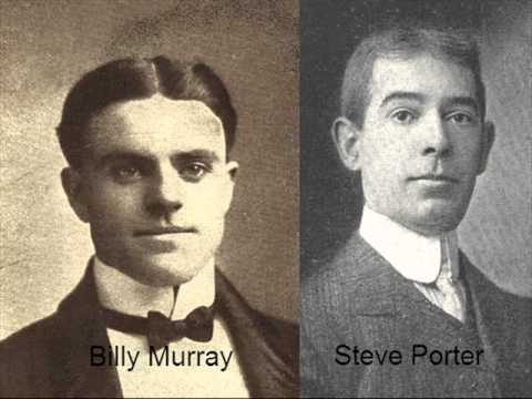 Billy Murray & Steve Porter - Irish Wit 1910 Vaudeville Skit