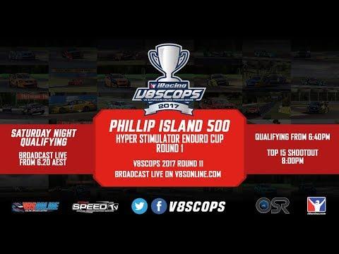 2017 V8SCOPS - Round Eleven, Phillip Island 500 - Qualifying Night