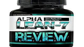 Alpha Lean 7 Fat Burner by Hard Rock Supplements Review