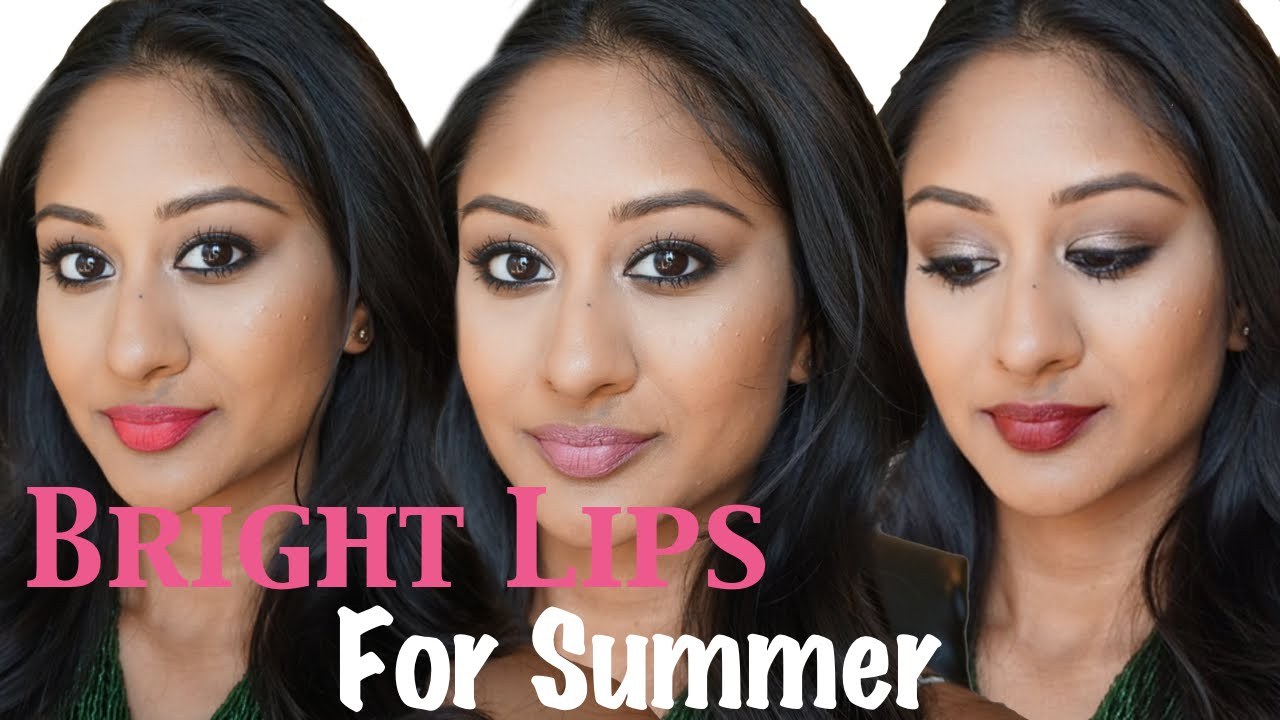 Summer Lipsticks For Indian Brown Middle Eastern Tan Skin