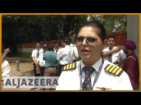🇮🇳 Jet Airways grounded, employees desperate to save jobs | Al Jazeera English