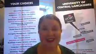 Study at University of Central Lancashire - Emily