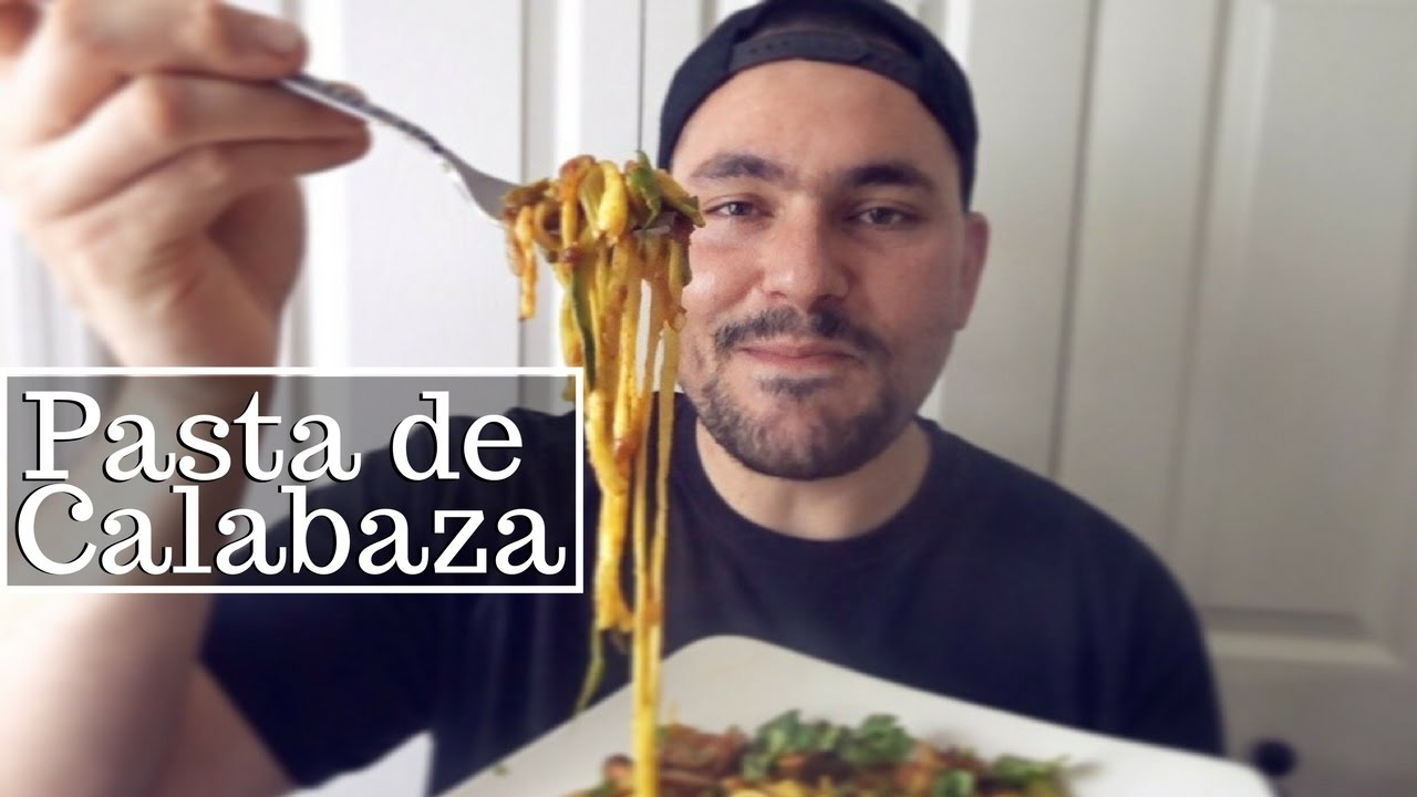 Pasta de calabaza zucchini noodles  La Capital  YouTube
