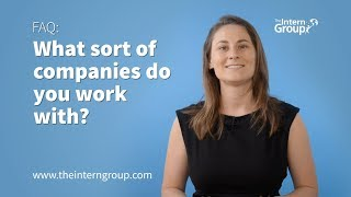 FAQ: What Sort Of Companies Do You Work With? - The Intern Group