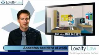 Asbestos accident at work compensation