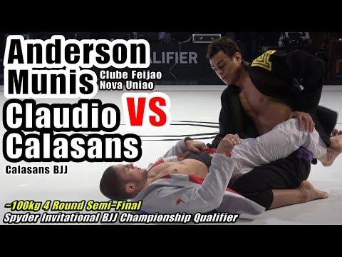 Anderson Munis 🆚 Claudio Calasans / Spyder BJJ 2019