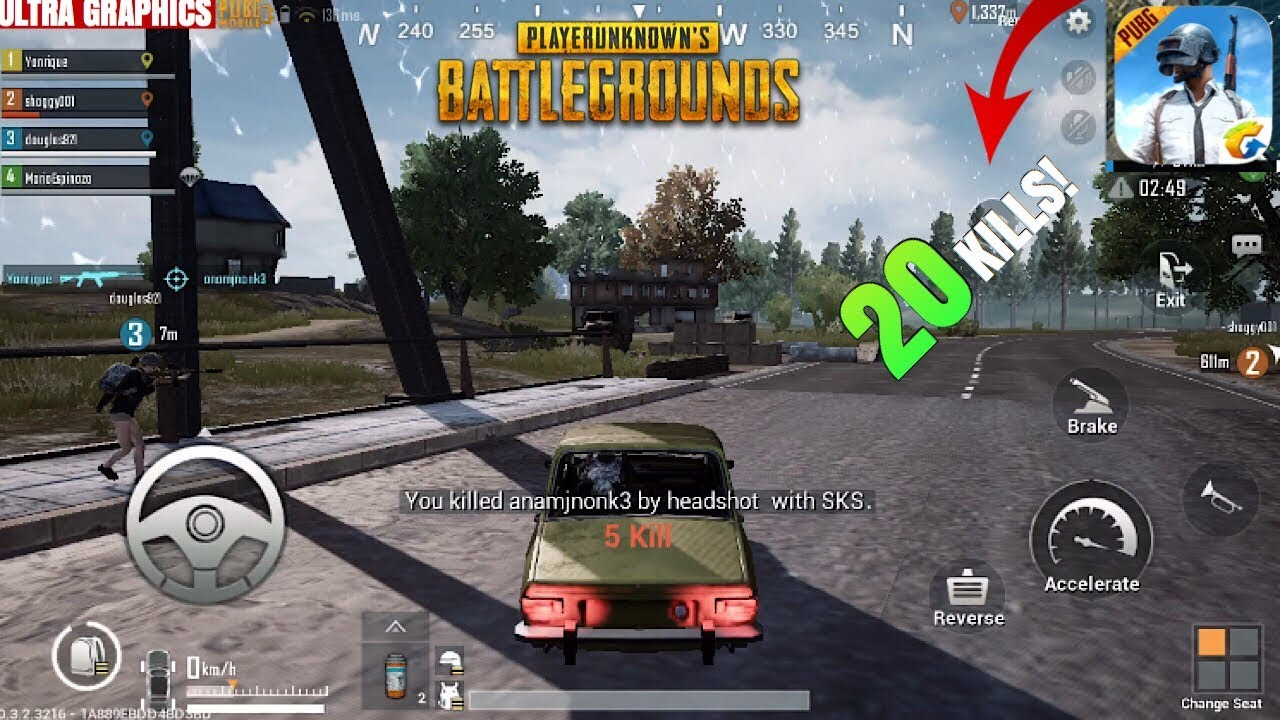 Get Ultra Hdr Graphics In Pubg Mobile: PUBG Mobile 20 KILLS Highlights